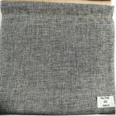 Римские шторы Лен FINE серый d22