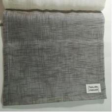 Римские шторы Тюль Лен стальной тюль