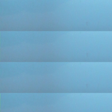 Жалюзи горизонтальные 25 мм алюминиевые цвет голубой с напылением 175-p