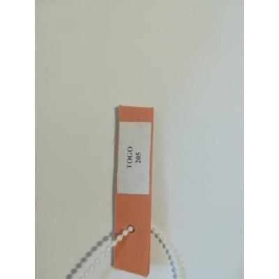 Шторы плиссе TOGO  цвет оранжевый 205
