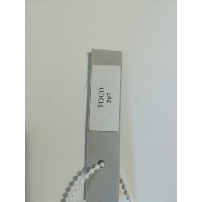 Шторы плиссе TOGO  цвет серый 207