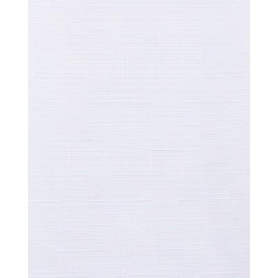 Тканевые ролеты Лен цвет белый