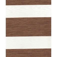 Тканевые ролеты Олимпос зебра цвет коричневый 2067