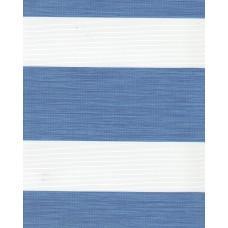 Тканевые ролеты Олимпос зебра цвет синий 2093