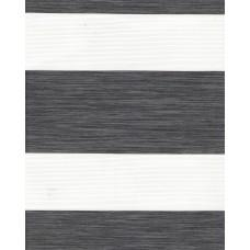 Тканевые ролеты Олимпос зебра цвет серый 2095